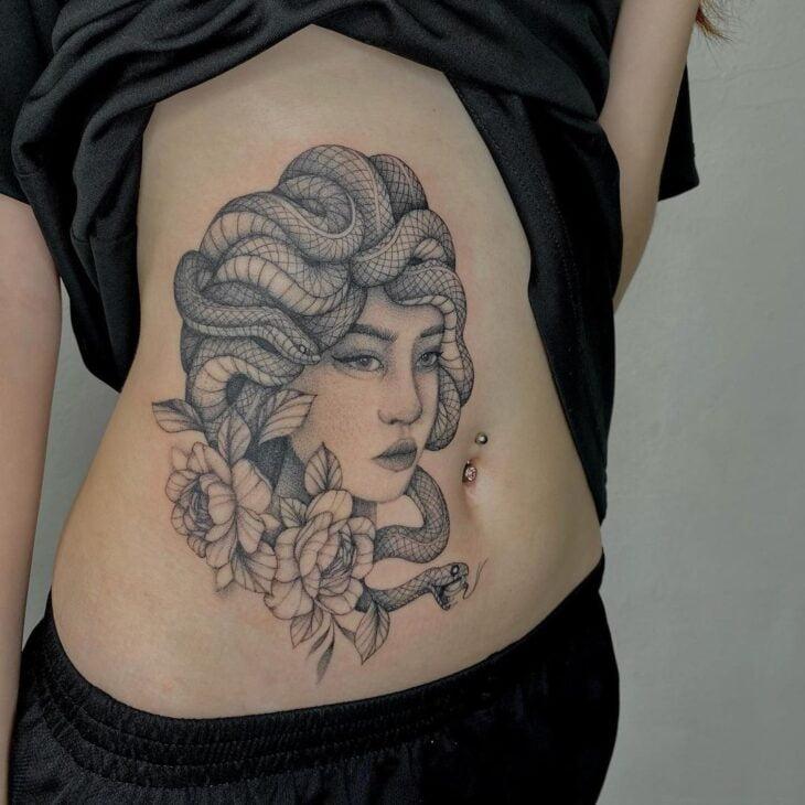 tatuagem de medusa 42