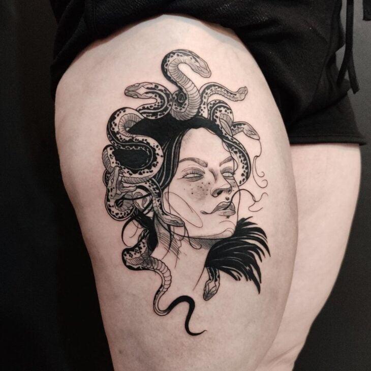 tatuagem de medusa 43