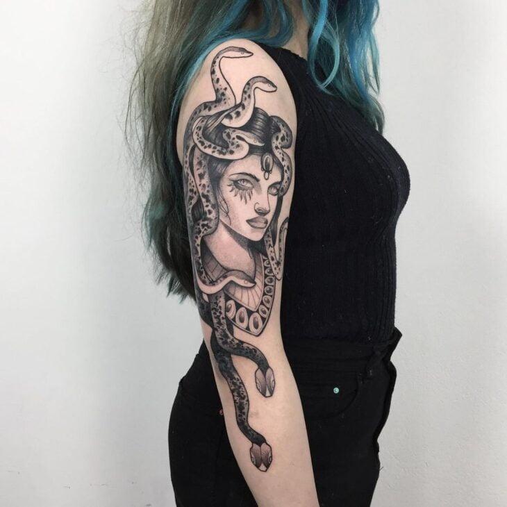 tatuagem de medusa 44
