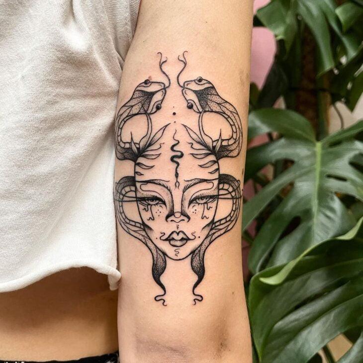 tatuagem de medusa 45