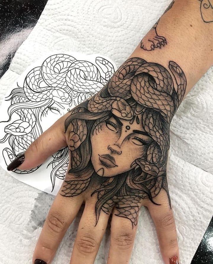 tatuagem de medusa 47