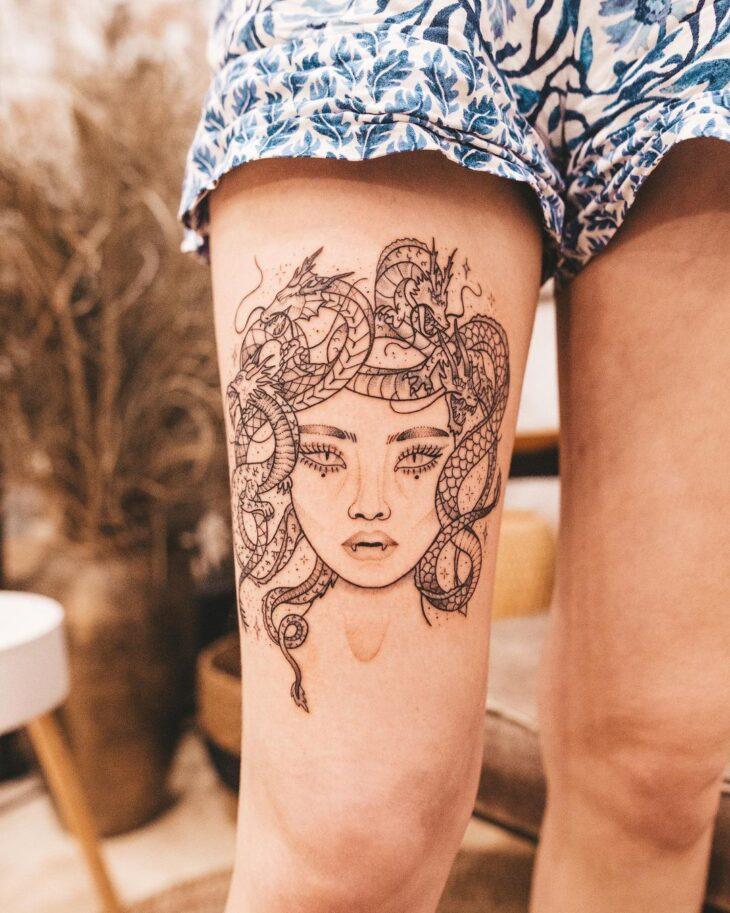 tatuagem de medusa 5