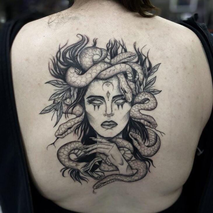 tatuagem de medusa 50