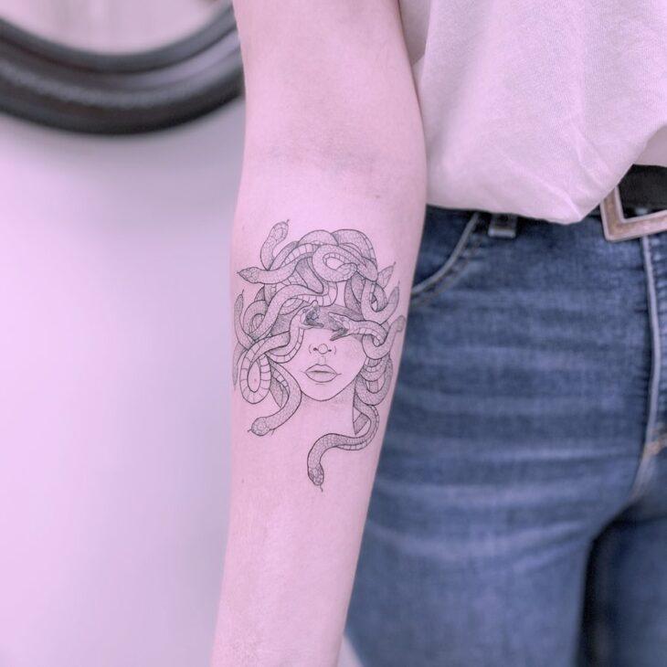 tatuagem de medusa 9