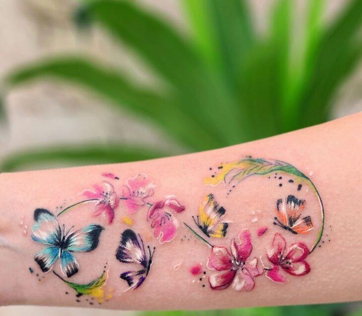 tatuagem de infinito 26