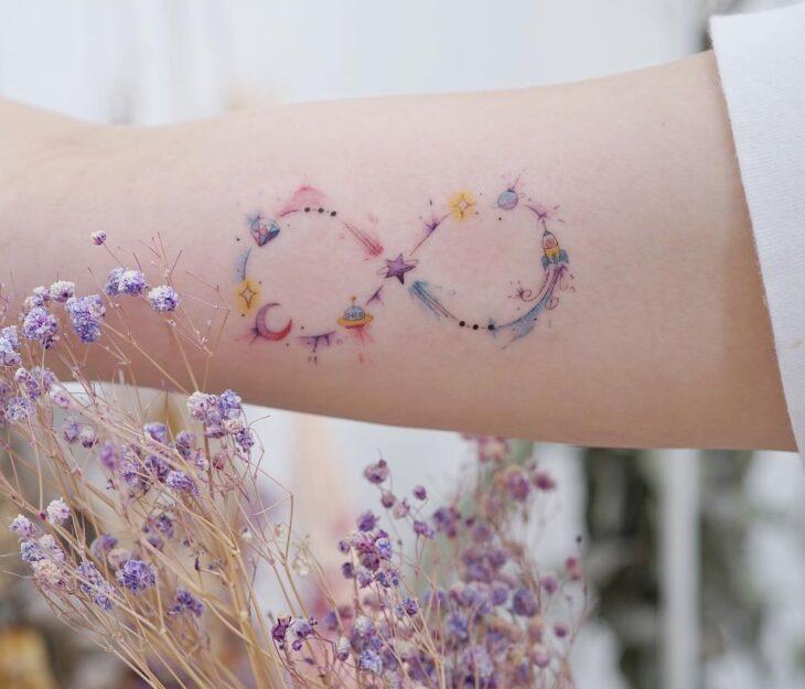 tatuagem de infinito 6