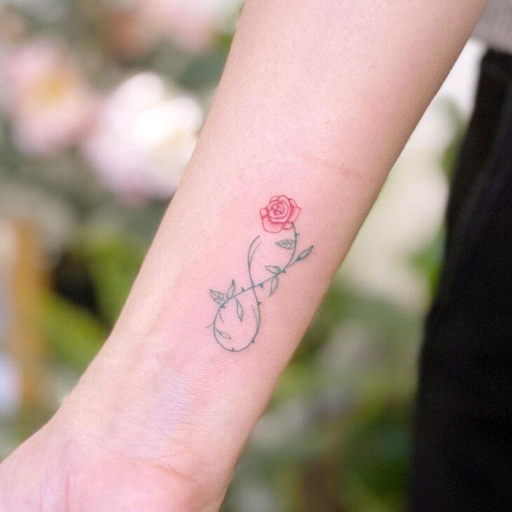 tatuagem de infinito 7