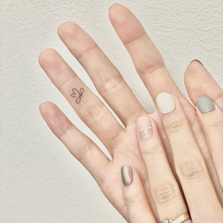 tatuagem de infinito 87