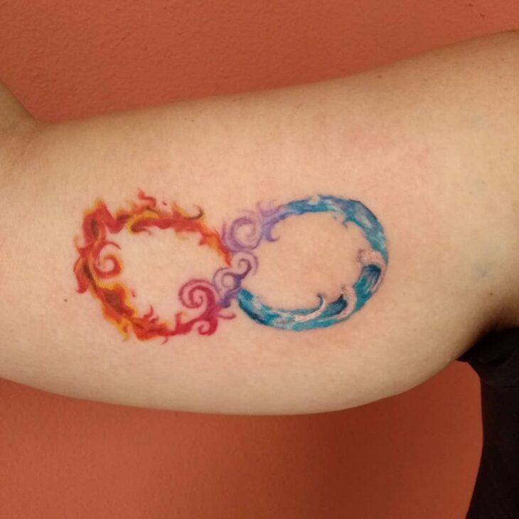 tatuagem de infinito 96