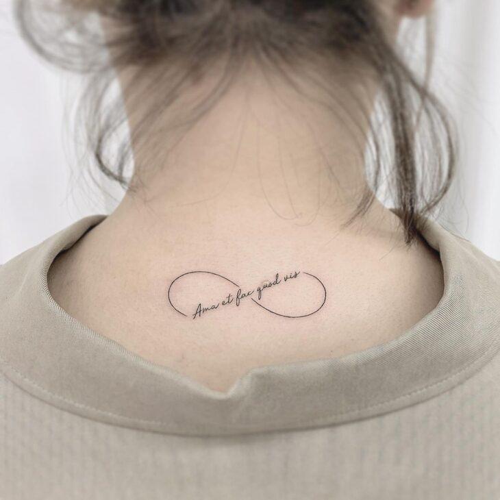 tatuagem de infinito 99