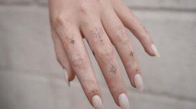 70 fotos de tatuagem no dedo cheias de atitude para te inspirar