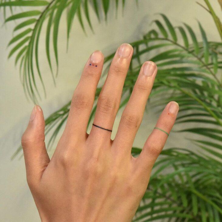 tatuagem no dedo 38