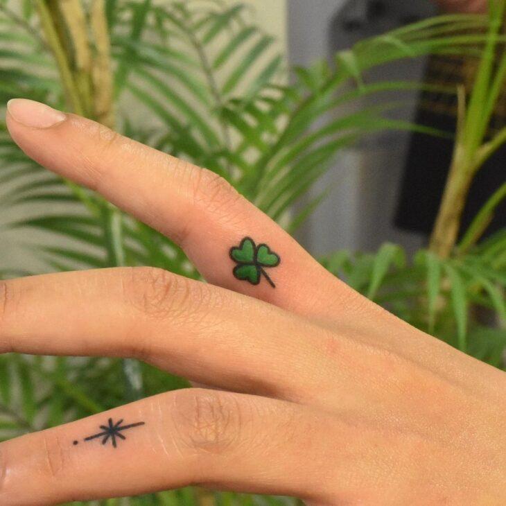tatuagem no dedo 57
