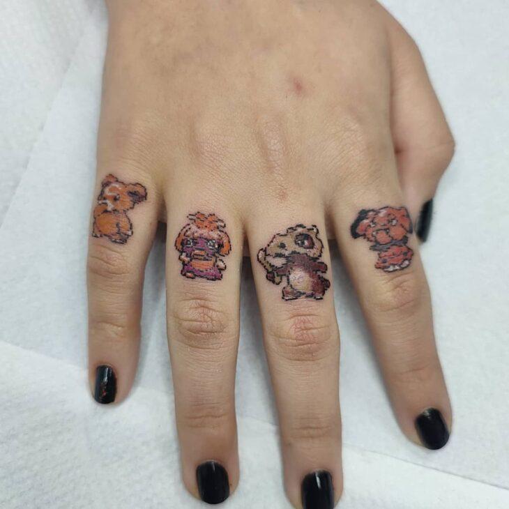 tatuagem no dedo 69