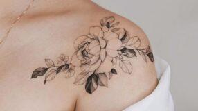 100 fotos de tatuagem no ombro que valorizam detalhes