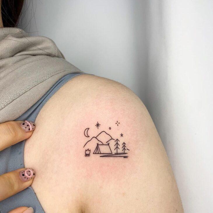 tatuagem no ombro 12