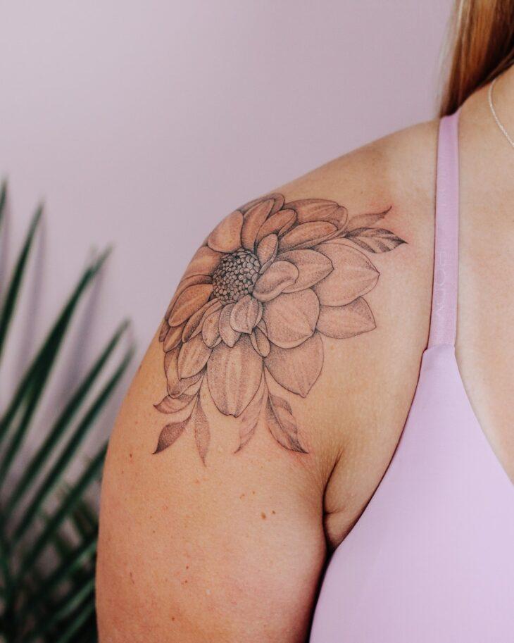 tatuagem no ombro 46
