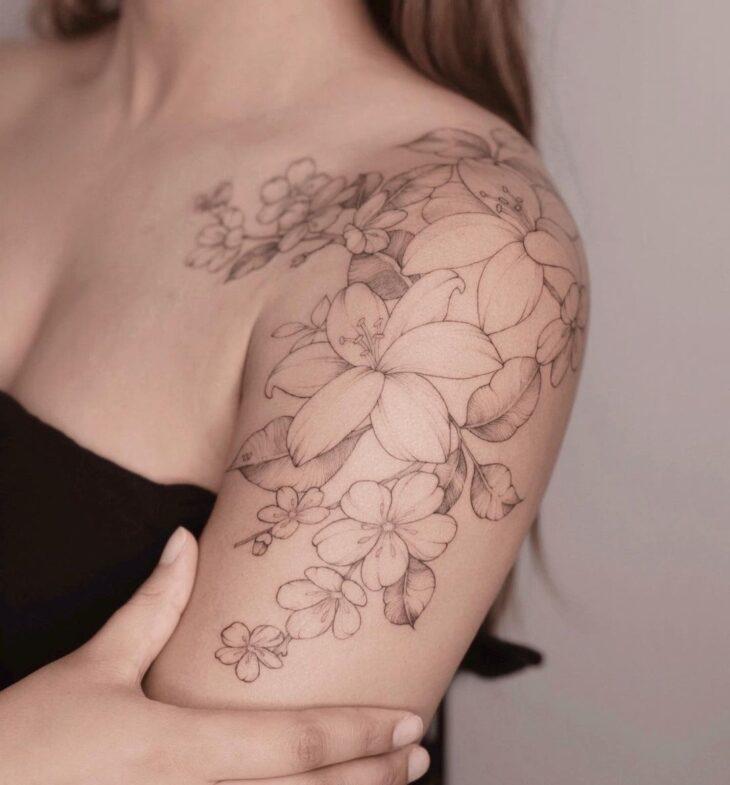 tatuagem no ombro 48