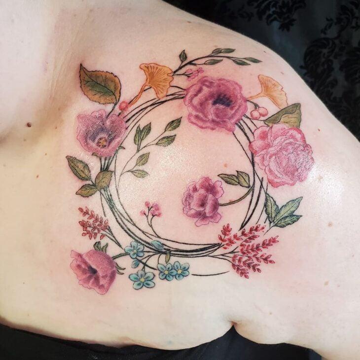 tatuagem no ombro 52