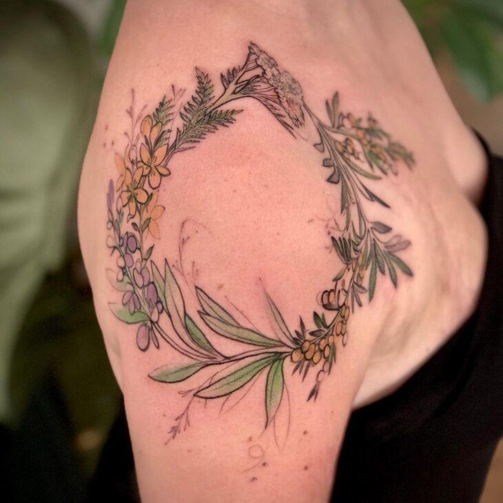 tatuagem no ombro 77