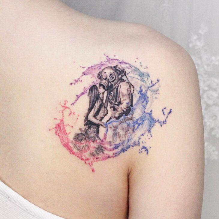 tatuagem no ombro 79