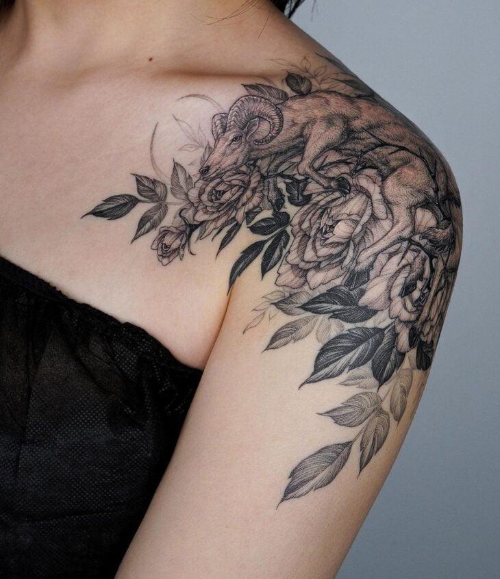 tatuagem no ombro 86