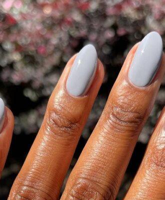 60 ideias de unhas com esmalte cinza para arrasar no clássico