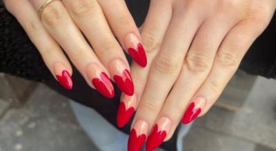 80 unhas com esmalte vermelho para usar essa cor sem tabus