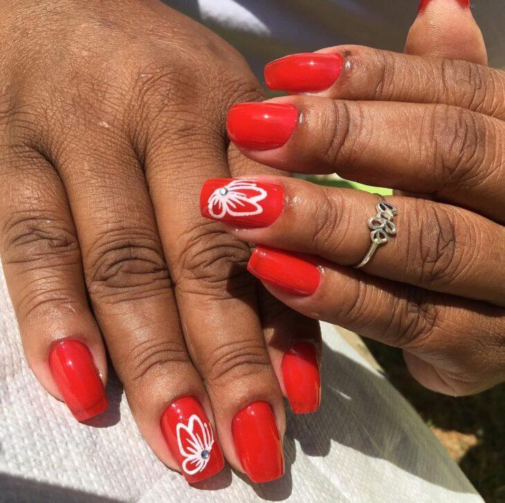 esmalte vermelho 38