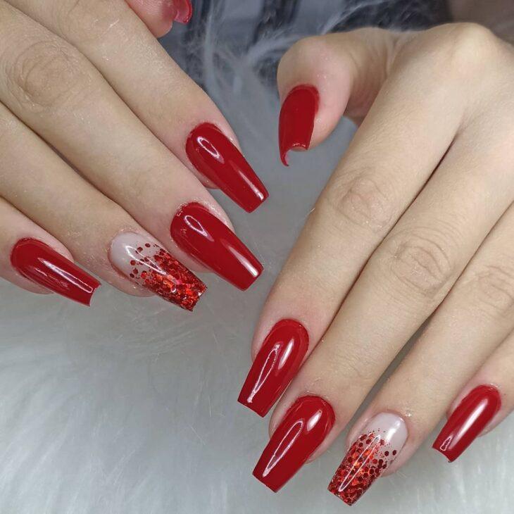 esmalte vermelho 60
