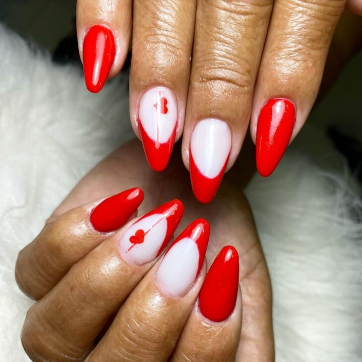 esmalte vermelho 73