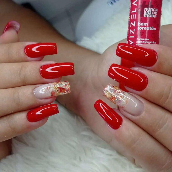 esmalte vermelho 76