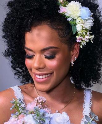 50 ideias de penteado de noiva solto para o seu dia de rainha