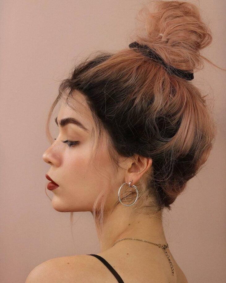 penteados com elástico 4