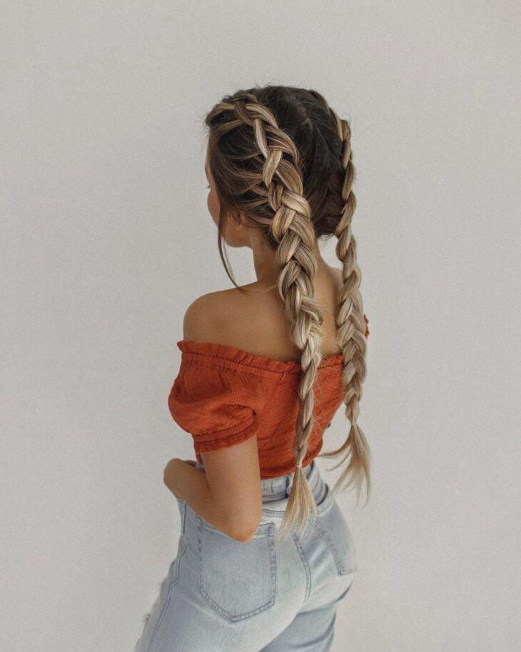 penteados com elástico 20