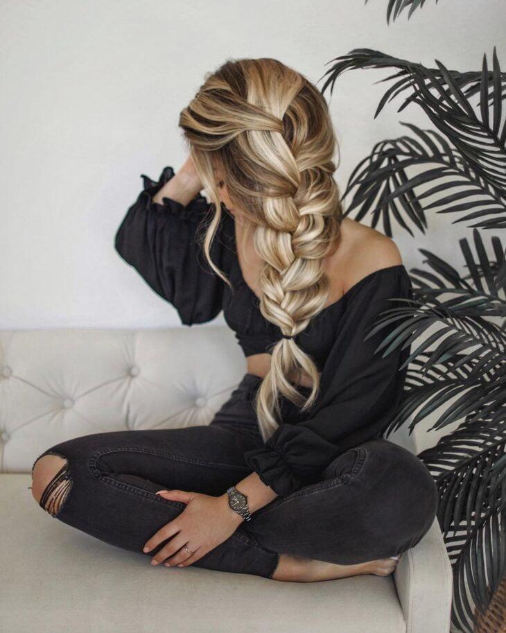 penteados com elástico 30